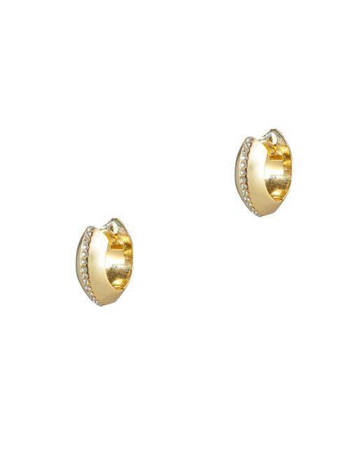 Sarah Magid | Metallic Ingot Huggie Hoop Earrings | Lyst