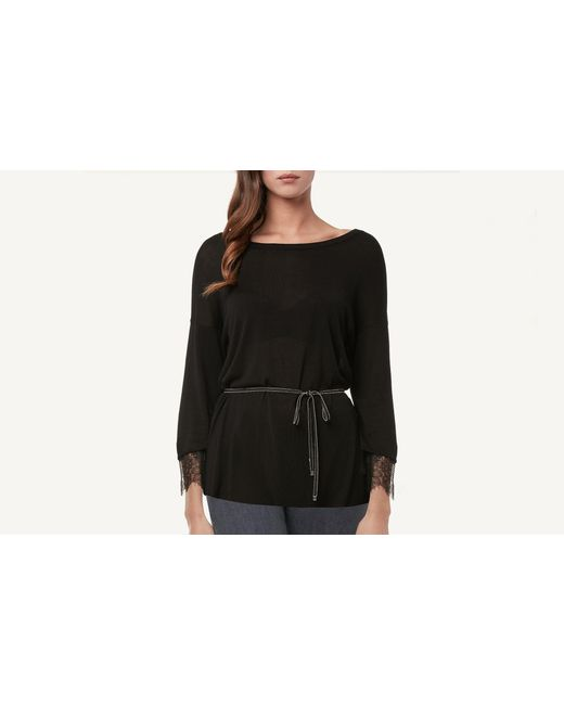 Intimissimi | Black Belt With Chain Detail | Lyst