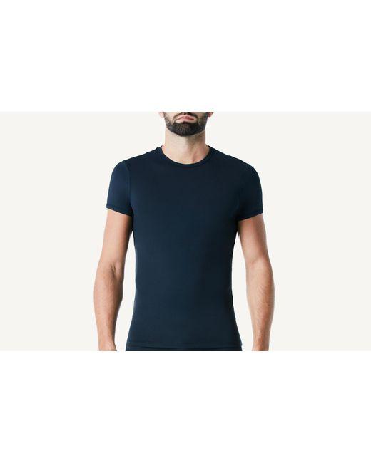 Intimissimi - Blue Microfiber Crew Neck T-shirt for Men - Lyst