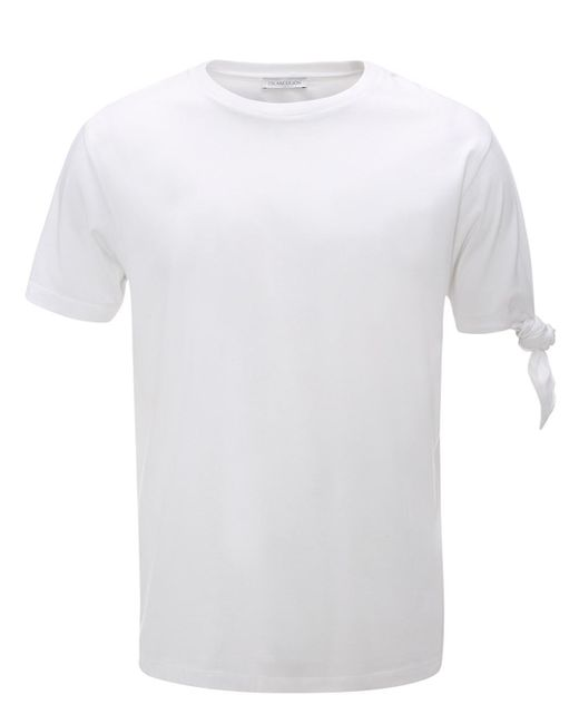 J.W. Anderson | White Single Knot T-shirt for Men | Lyst