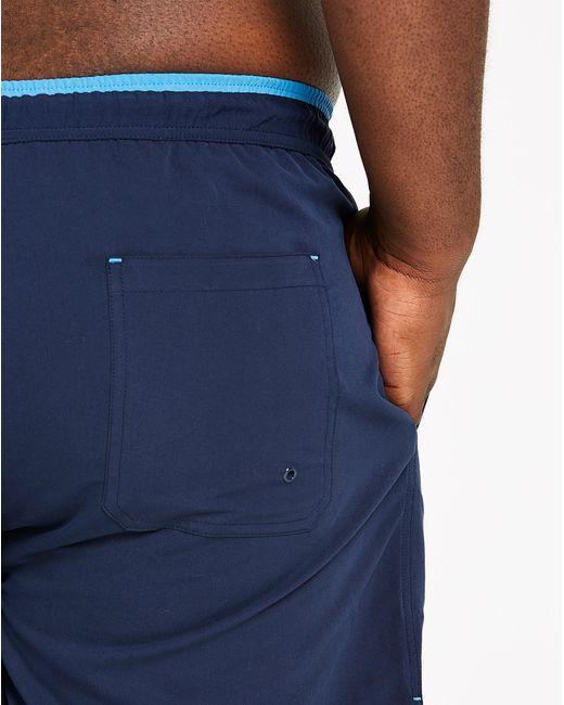1994db105e ... Jacamo - Blue Pack Of 2 Plain/print Swimshorts for Men - Lyst ...
