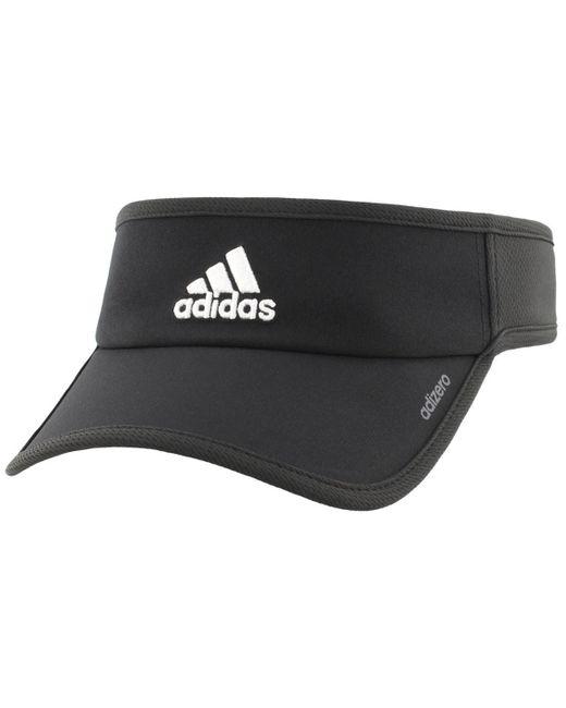 04a63221c90fb Lyst - adidas Men s Adizero Ii Visor in Black for Men