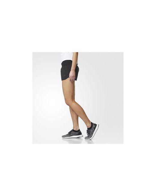 3f024685a Lyst - adidas Women s Supernova Glide Shorts in Black