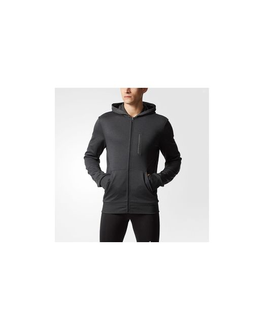 Adidas - Black Men's Adidas Beyd The Run Hoodie for Men - Lyst