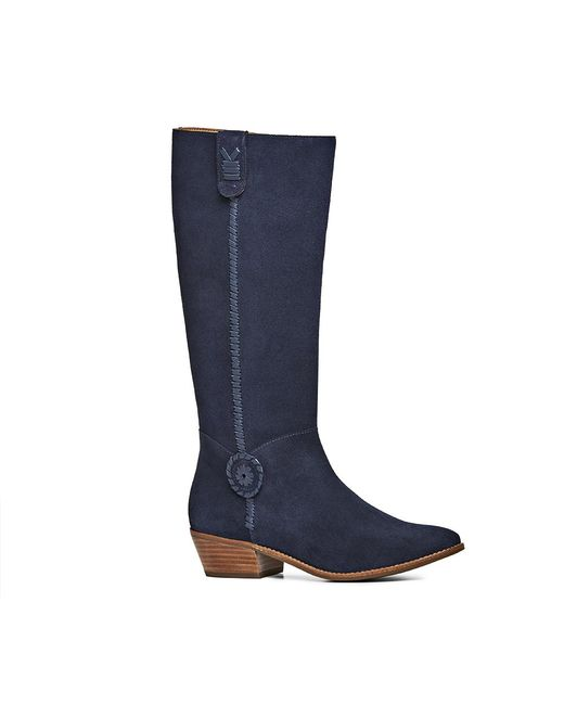Jack Rogers | Blue Exclusive Sawyer Suede Boot | Lyst