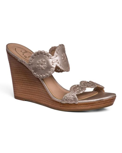 Jack Rogers - Gray Luccia Wedge - Lyst