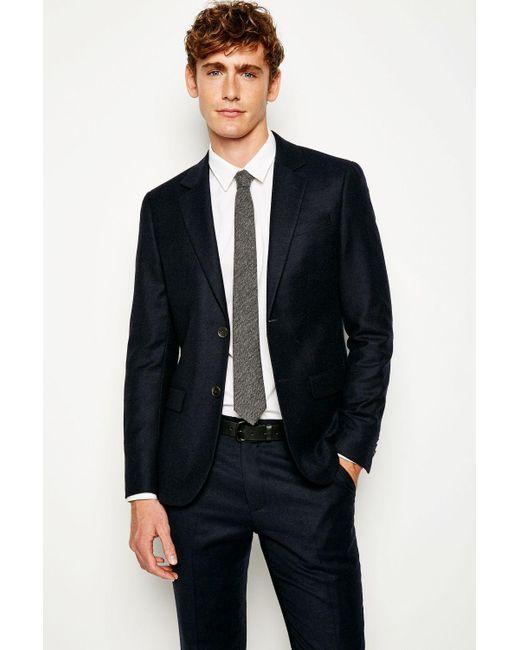 Jack Wills - Blue Bloomsbury Flannel Suit Jacket for Men - Lyst ...