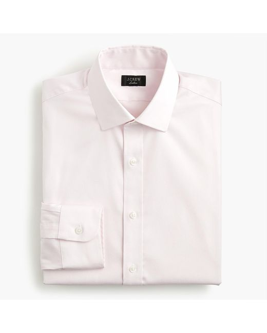 J.Crew - White Ludlow Slim-fit Stretch Two-ply Easy-care Cotton In Pinpoint Oxford for Men - Lyst