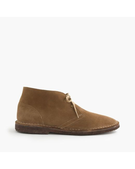 J.Crew | Natural Classic Macalister Boots In Suede for Men | Lyst