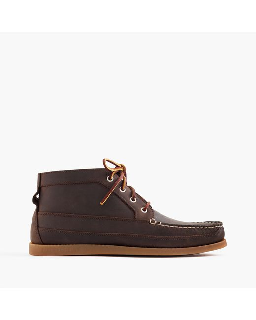 J.Crew - Brown Sperry Chukka Boots for Men - Lyst