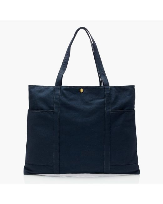 J.Crew | Blue Striped Vintage Canvas Tote | Lyst