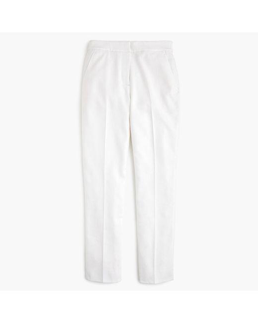 J.Crew - White Petite Easy Pant Stretch Linen for Men - Lyst
