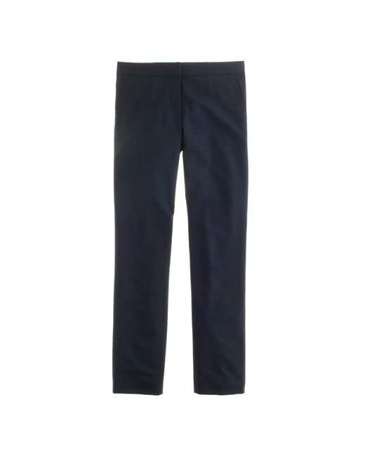 J.Crew   Blue Tall Paley Pant In Italian Stretch Wool   Lyst