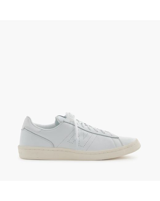 J.Crew   White 791 Leather Low-Top Sneakers for Men   Lyst