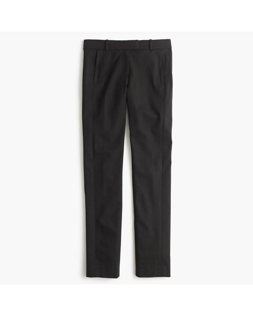 J.Crew - Black Maddie Pant In Two-way Stretch Cotton - Lyst