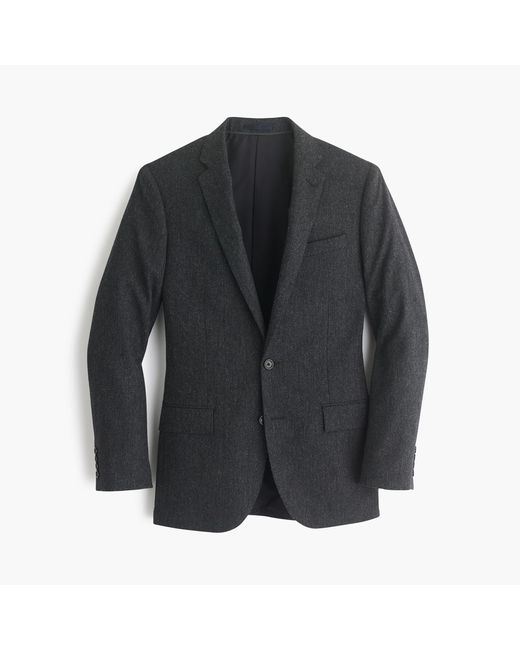 J.Crew | Gray Ludlow Suit Jacket In English Donegal Wool for Men | Lyst