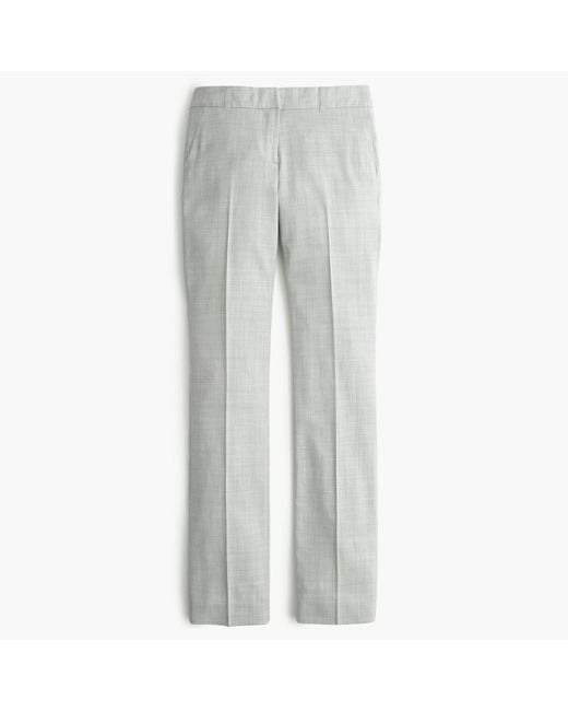 J.Crew | Gray Campbell Trouser In Super 120s Wool | Lyst