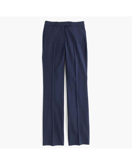J.Crew   Blue Preston Pant In Italian Stretch Wool   Lyst
