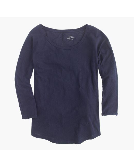 J.Crew | Blue Vintage Cotton Dolman T-shirt | Lyst