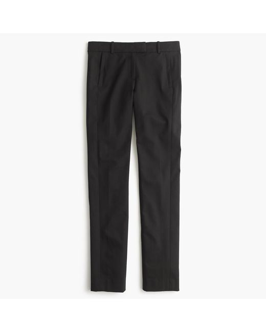 J.Crew | Black Campbell Trouser In Super 120s Wool | Lyst
