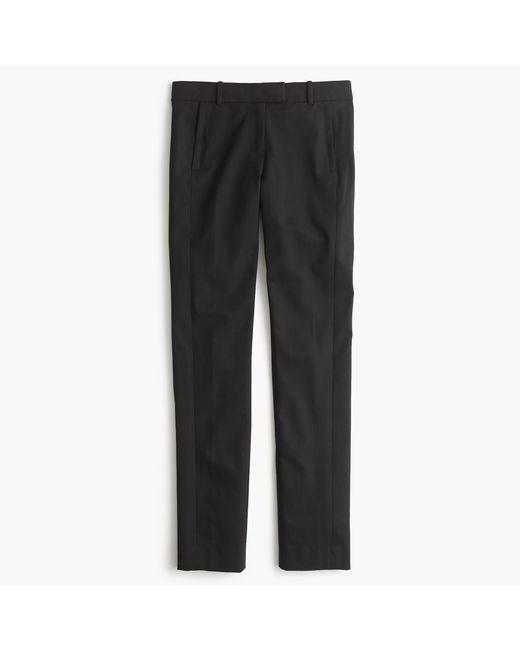 J.Crew | Black Petite Campbell Trouser In Super 120s Wool | Lyst