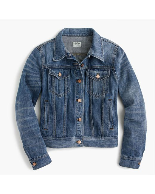 J.Crew | Blue Denim Jacket  | Lyst
