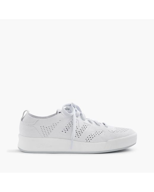 J.Crew | White Women's New Balance 300 Deconstructed Sneakers | Lyst