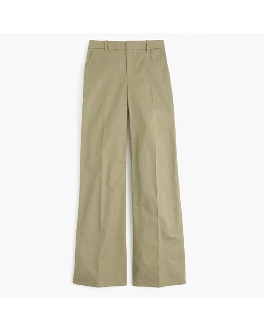 J.Crew   Green Collection Full-length Pant In Italian Cotton   Lyst