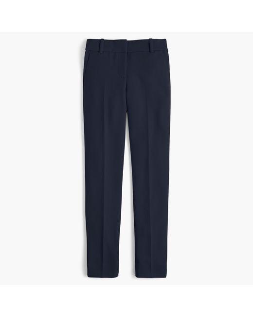 J.Crew - Blue Tallcameron Cropped Pant In Four-season Stretch - Lyst