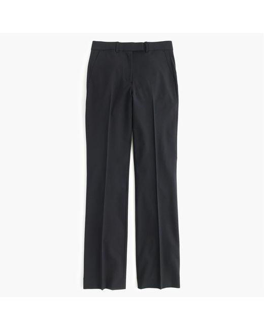 J.Crew - Black Tall Preston Pant In Italian Stretch Wool - Lyst
