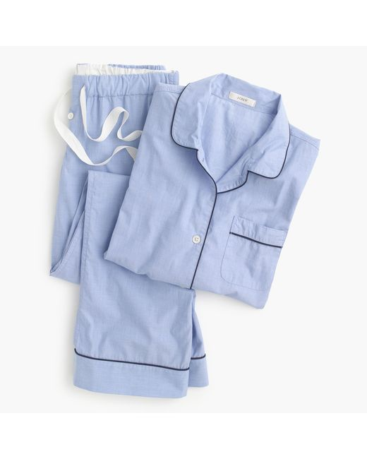 J.Crew - Blue Petite Vintage Pajama Set for Men - Lyst