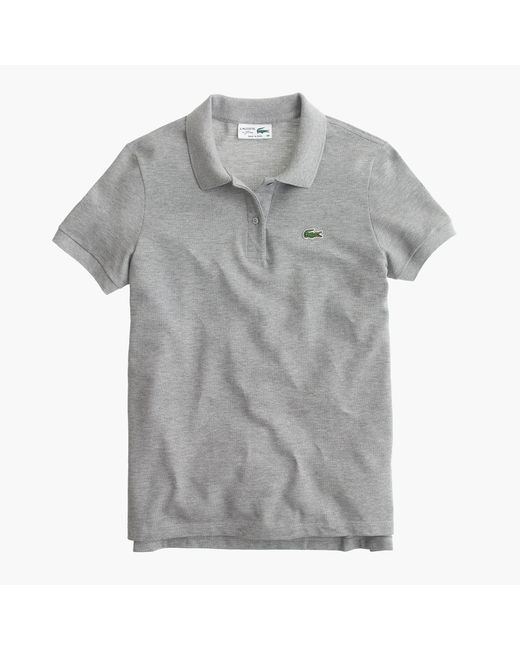 Lacoste - Gray Polo Shirt - Lyst