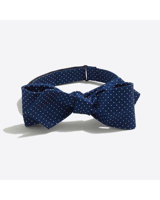 J.Crew - Blue Mercantile Silk Dot Bow Tie for Men - Lyst