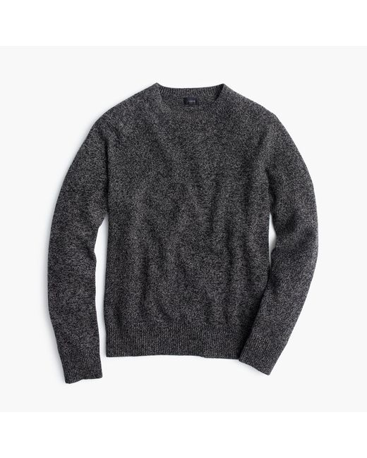 J.Crew   Gray Marled Lambswool Sweater for Men   Lyst