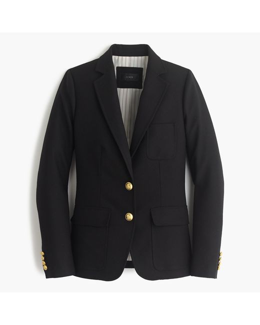 J.Crew | Black Rhodes Blazer In Italian Wool | Lyst