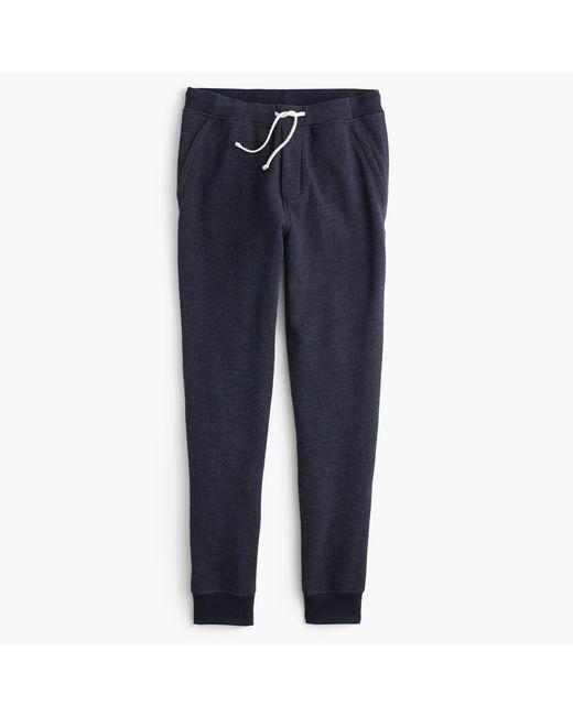 J.Crew   Blue Slim Classic Zip-pocket Sweatpant for Men   Lyst