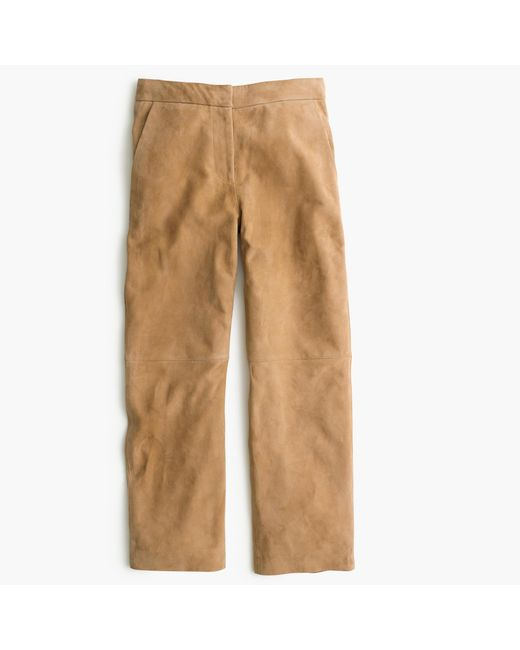 J.Crew   Natural Collection Suede Patio Pant   Lyst