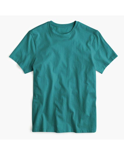 J.Crew - Blue Tall Mercantile Broken-in Crewneck T-shirt for Men - Lyst