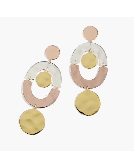 J.Crew - Multicolor Orbit Earrings - Lyst