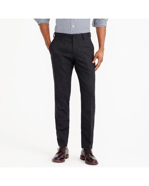 J.Crew - Gray Slim Thompson Suit Pant In Flex Wool for Men - Lyst