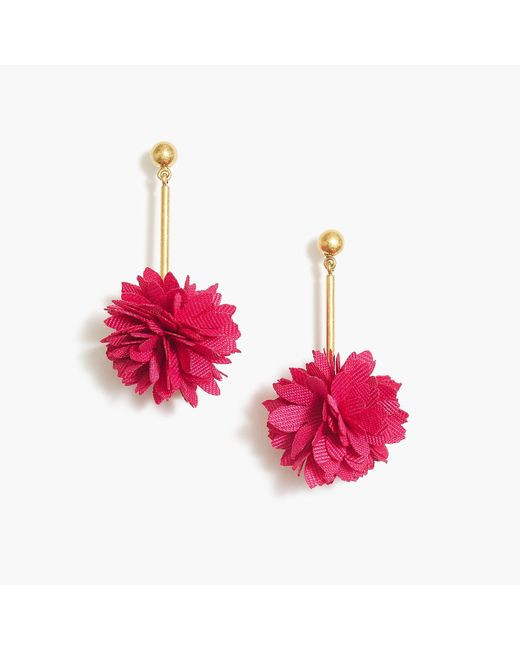 J.Crew - Multicolor Blossom Drop Earrings - Lyst