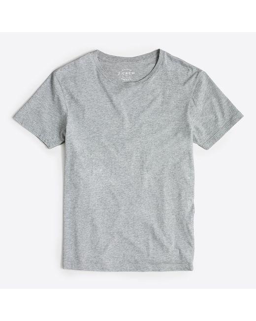 J.Crew - Gray Broken-in T-shirt for Men - Lyst