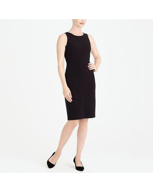 J.Crew - Black Sheath Dress - Lyst