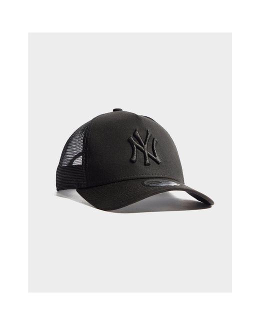 963d90aa KTZ - Black Mlb New York Yankees Snapback Trucker Cap - Lyst ...