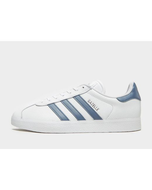 uk availability 8b90d 57206 Adidas Originals - Blue Gazelle for Men - Lyst ...