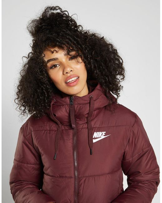 d4b23738a4f2 In In In Reversible Red Padded Nike Lyst Jacket IwCx5gZq