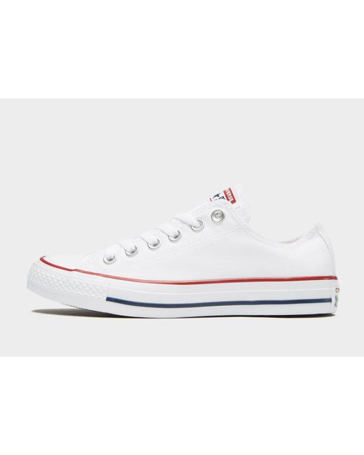 Lyst Converse All Star Ox in White