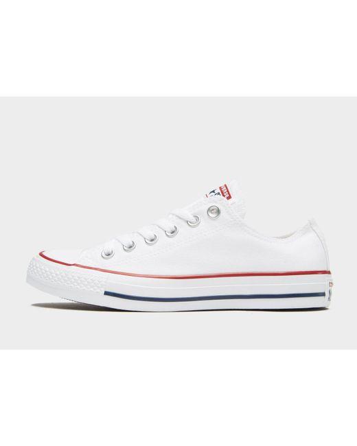 1b4122a9246c Converse - White All Star Ox - Lyst ...