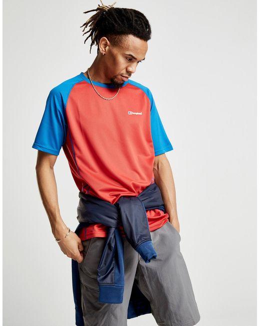 Berghaus - Blue Short Sleeve Poly Tech S18 T-shirt for Men - Lyst