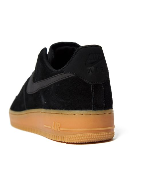 pretty nice 0acf2 7532a ... Nike - Black Air Force 1 Lv8 for Men - Lyst ...